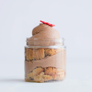 Chocolate Lovers Cupcake Jars Set of 4 - Dreamy Creations Cupcakes