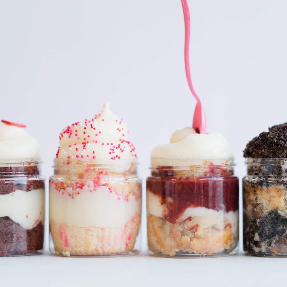 LA's Top Sellers Cupcake Jars Set of 8 - Dreamy Creations Cupcakes