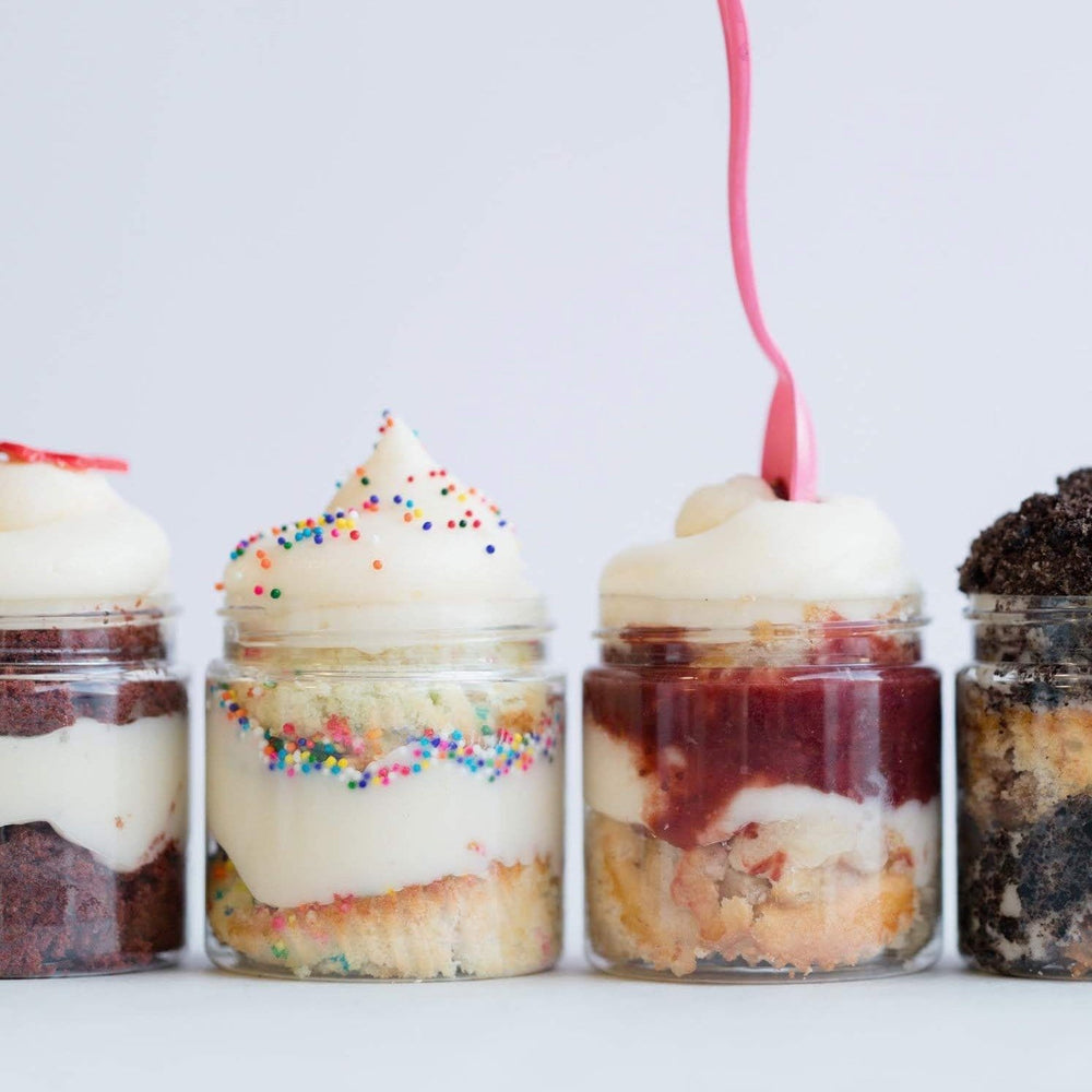 Cupcake Jars Variety Set of 12 - Dreamy Creations Cupcakes