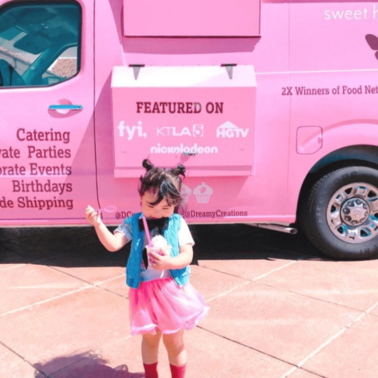 Ice Cream Truck Catering - Dreamy Creations Cupcakes