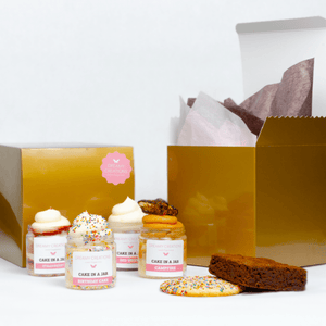 The Happiness Sampler Gift Box - Dreamy Creations Cupcakes