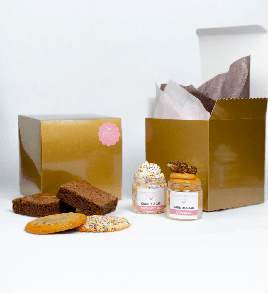 A Little Somethings Sweets Gift Box - Dreamy Creations Cupcakes