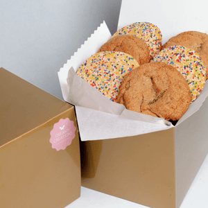 Half Dozen Cookie Gift Box - Dreamy Creations Cupcakes