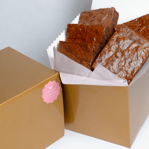 GF Brownies Gift Box - Dreamy Creations Cupcakes