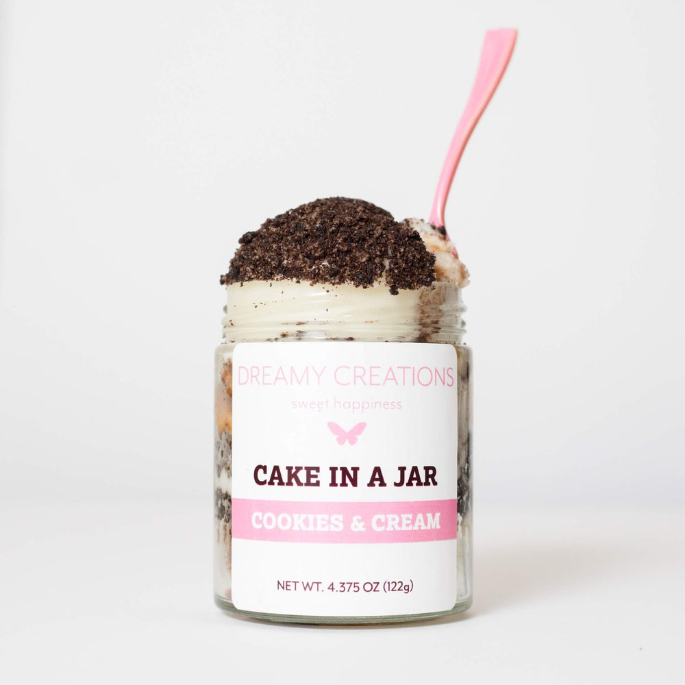 Load image into Gallery viewer, Cookies & Cream Cupcake Jar - Dreamy Creations Cupcakes