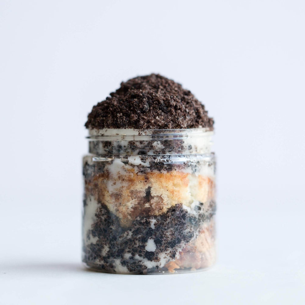 Cookies & Cream Cupcake Jar - Dreamy Creations Cupcakes