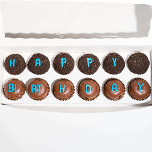 Load image into Gallery viewer, Happy Birthday Box - Dreamy Creations Cupcakes