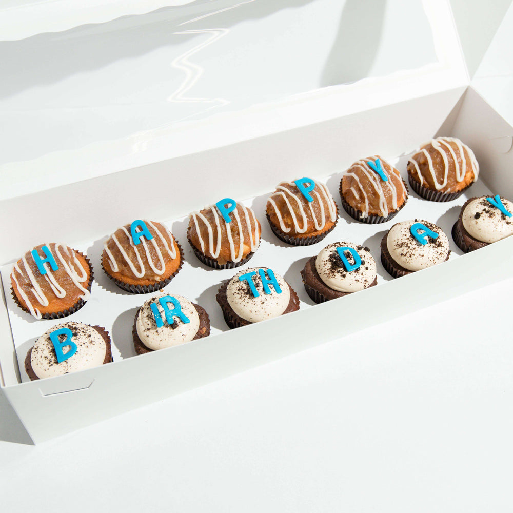Happy Birthday Box - Dreamy Creations Cupcakes