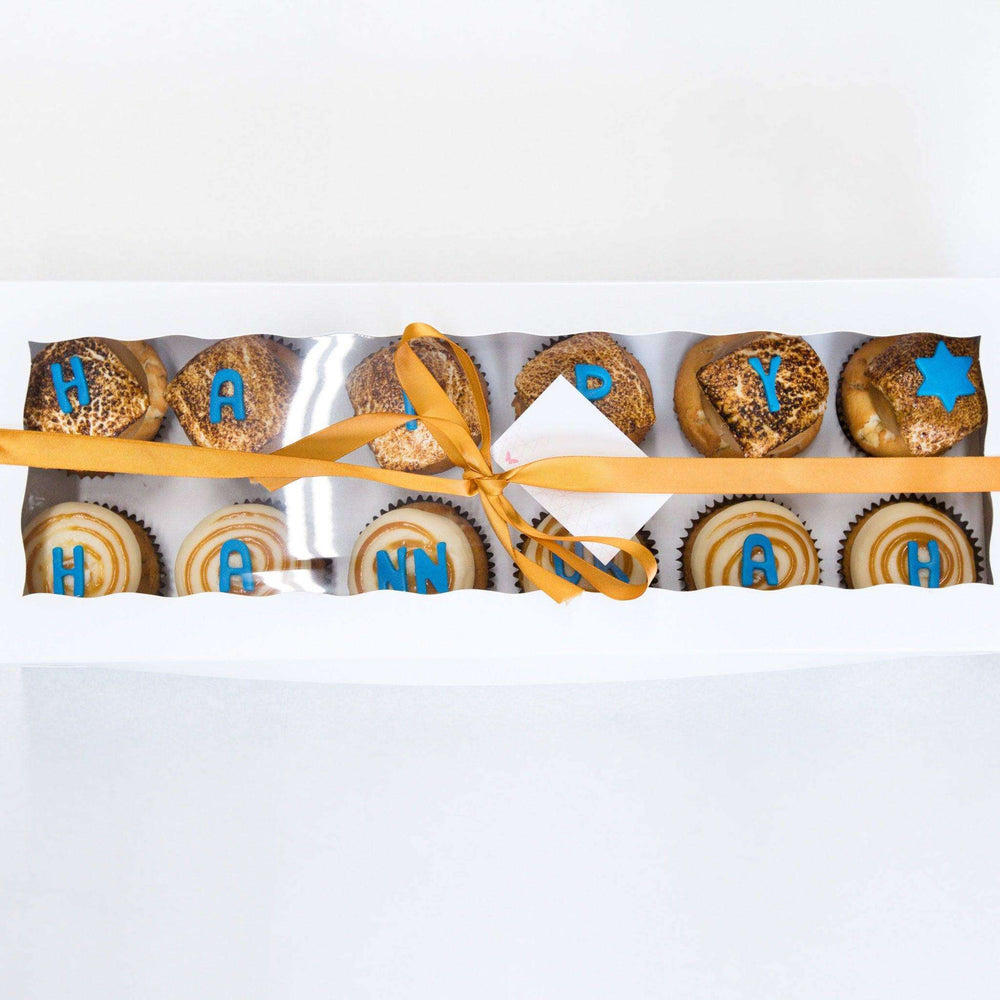 Happy Hanukkah Gift Box - Dreamy Creations Cupcakes