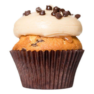JANUARY - Vanilla Salted Caramel Chip - Dreamy Creations Cupcakes