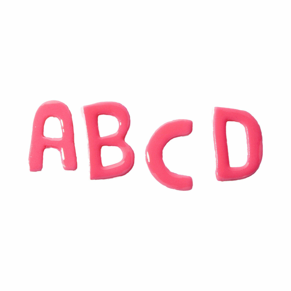 Fondant Letters cupcake toppers - Dreamy Creations Cupcakes