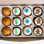 Mini Dozen December Box - Dreamy Creations Cupcakes