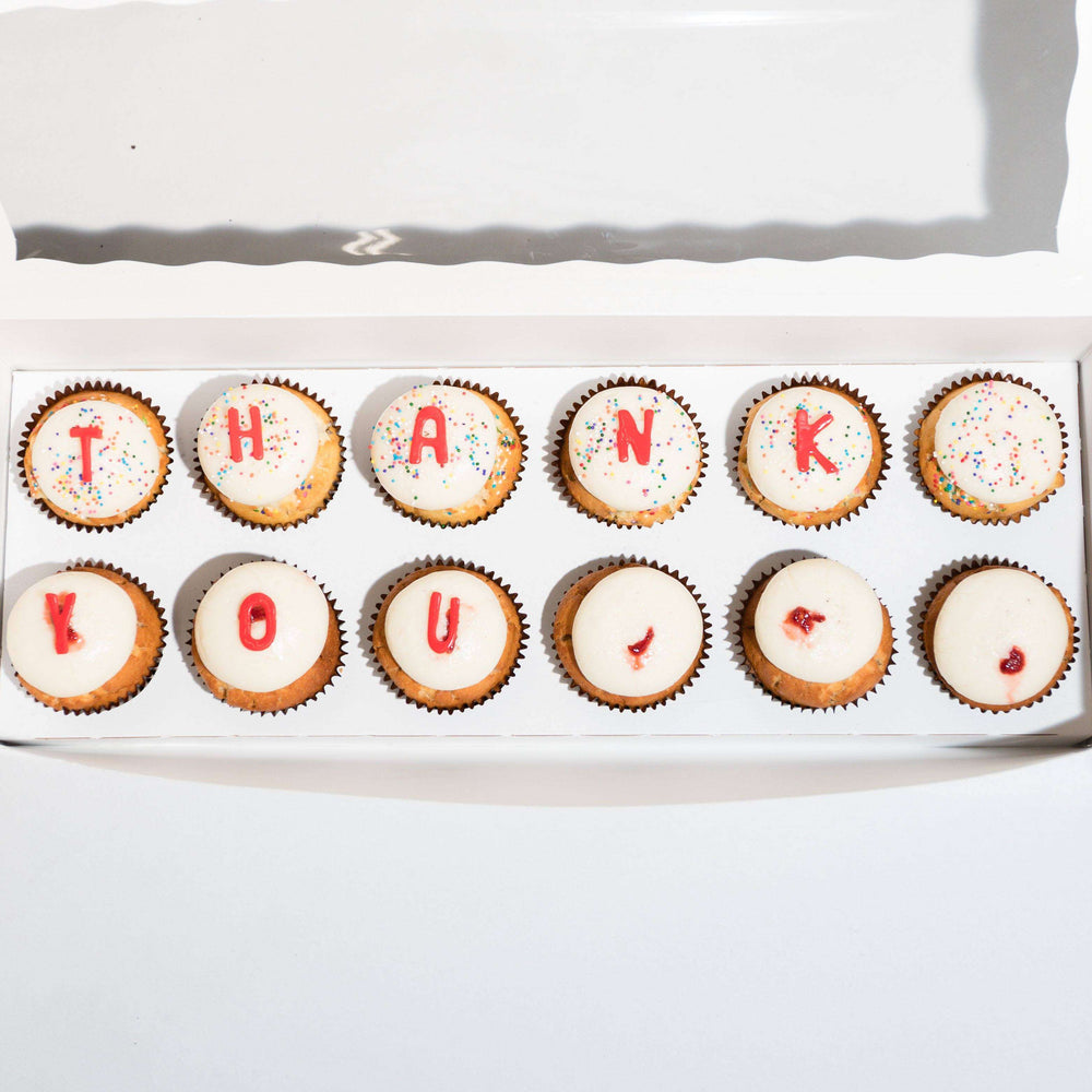 Thank You Box - Dreamy Creations Cupcakes