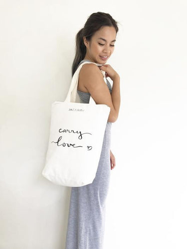Carry Love Tote Bag