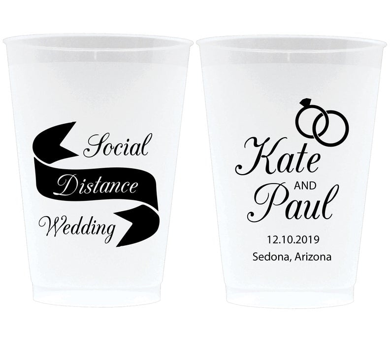 Social Distancing Wedding Frosted Cups (1)