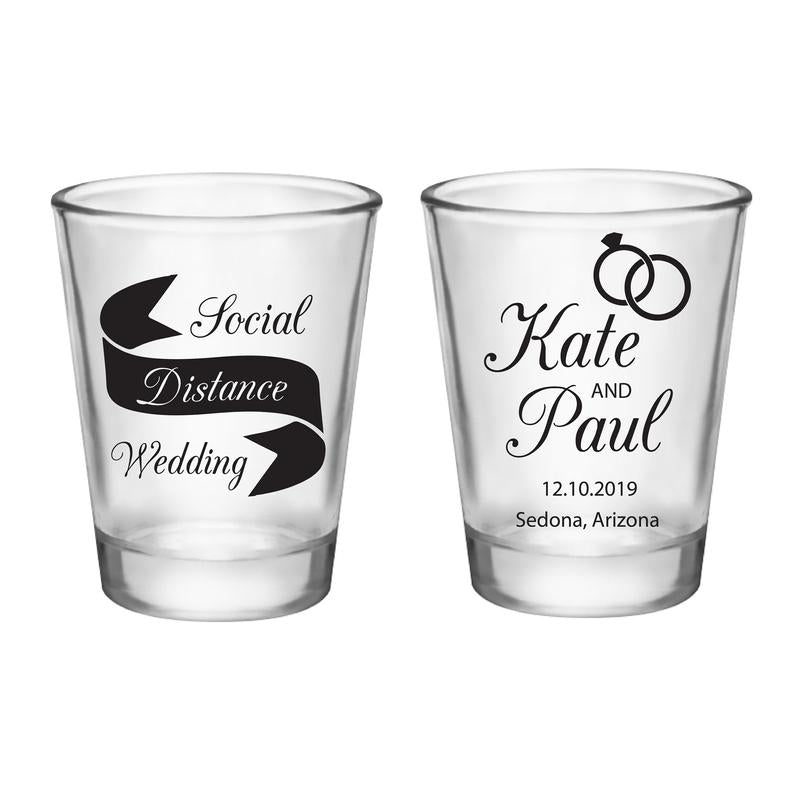 Social Distancing Wedding Shot Glasses (1)