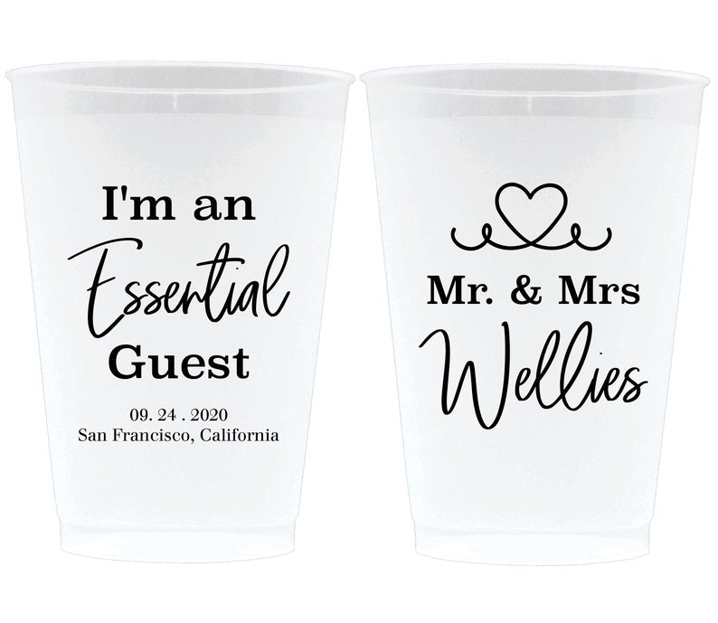 Essential Guest Frosted Cups (5)