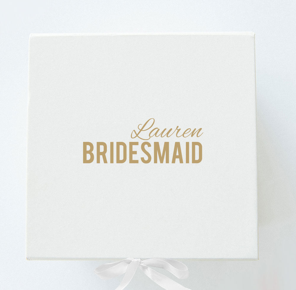 Bridesmaid Box - Style 8