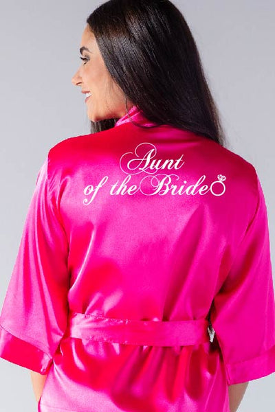 Ring Style - Aunt of the Bride Robe