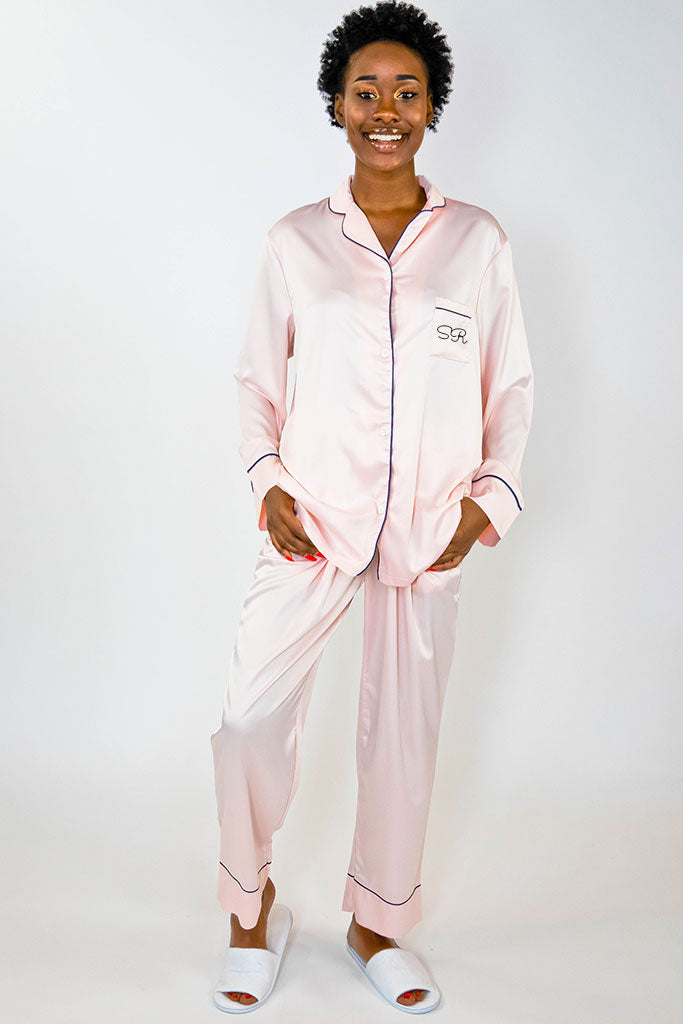 Pajama Pant Set - Blush