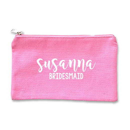 Canvas Makeup Bag - I
