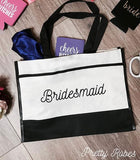 Bridesmaid - Premium Trim Tote