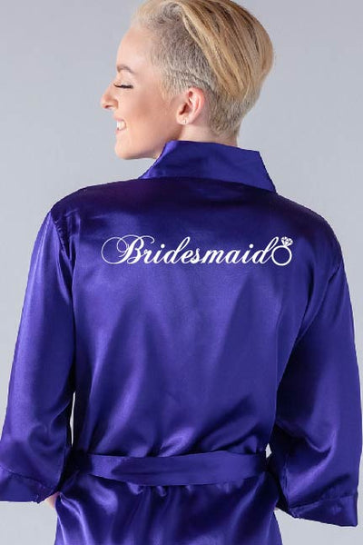Ring Style - Bridesmaid Robe