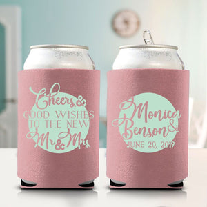 Cheers & Good Wishes to the New Mr. and Mrs. Koozie