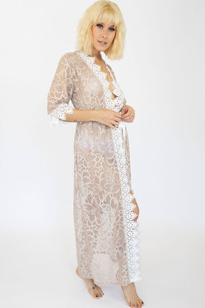 Long Lace Chloe Robe