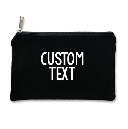 Custom Canvas Makeup Bag
