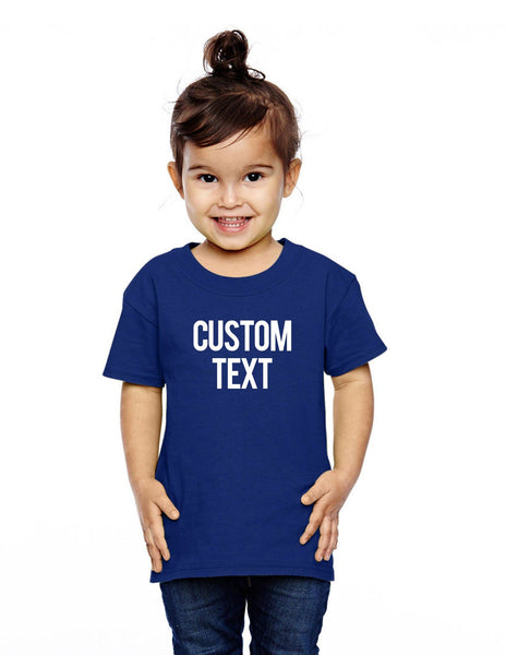 Custom Toddler Tee