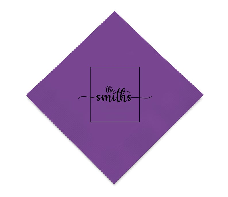 Customized Wedding Napkins (ci)