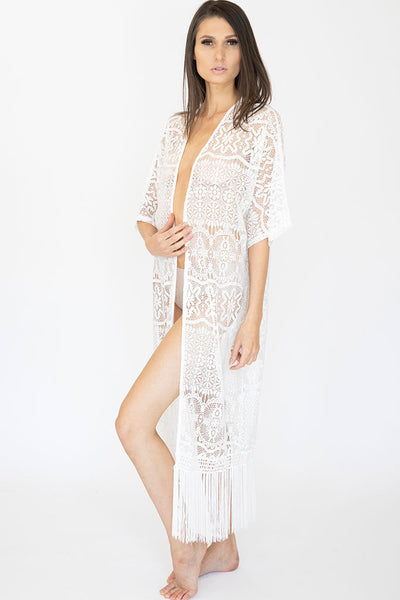 Long Lace Ella Robe