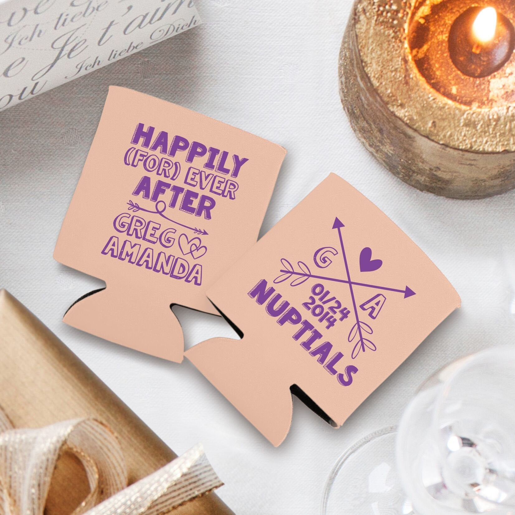 Happily (For) Ever After Koozie