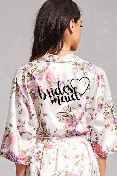 Heart Style - Bridesmaid Robe