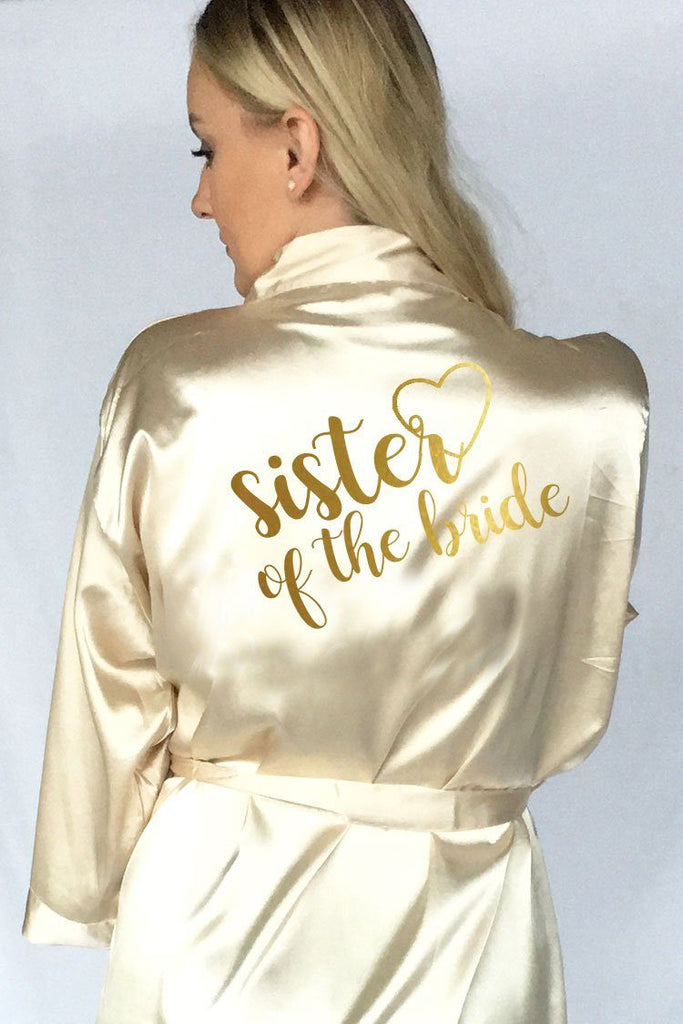 Heart Style - Sister of the Bride Robe