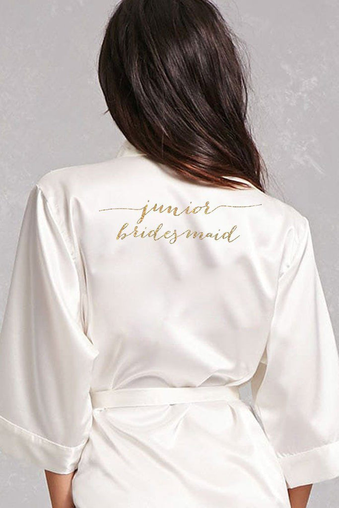 Flowy Style - Junior Bridesmaid Robe
