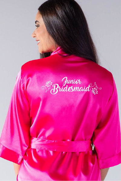 Flower Style - Junior Bridesmaid Robe
