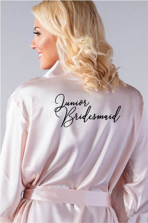 Handwritten Style - Junior Bridesmaid Robe