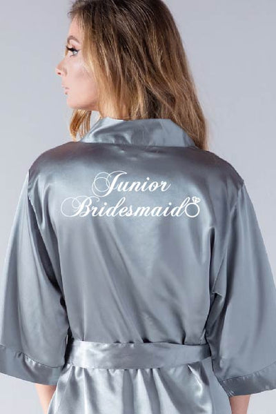 Ring Style - Junior Bridesmaid Robe