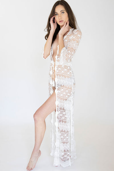 Long Lace Layla Robe