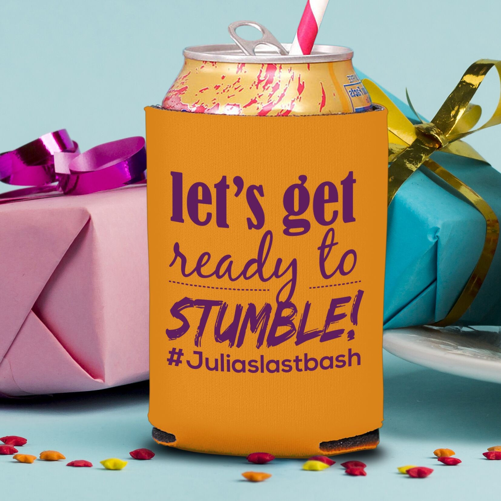 Let's Get Ready to Stumble Style 2 Koozie