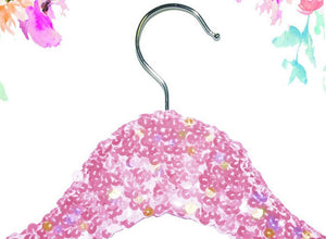 Light Pink Sequin Hanger