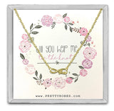 Love Necklace - Gold - Design B