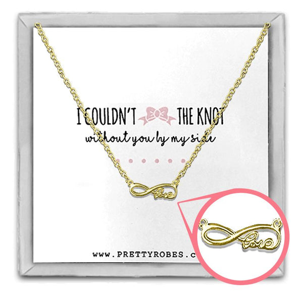 Love Necklace - Gold - Design D