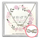 Love Necklace - Silver - Design B