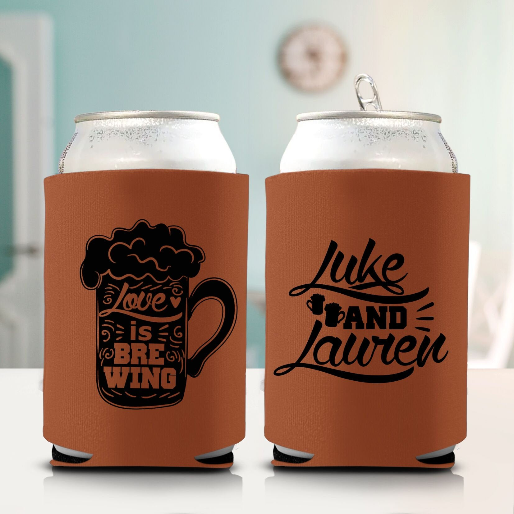 Love is Brewing Koozie