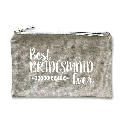 Canvas Makeup Bag - M