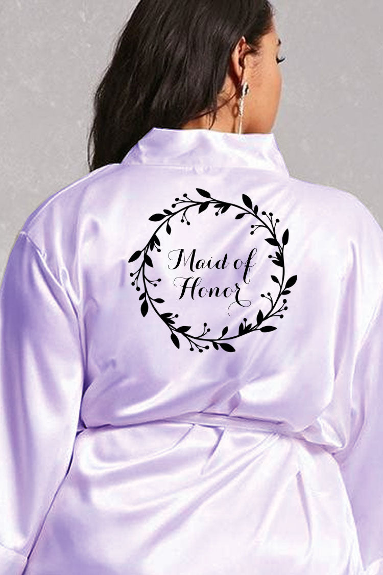 Wreath Style - Maid of Honor Robe