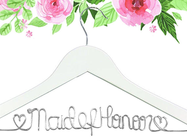 Wired Maid of Honor Hanger